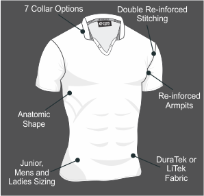Custom Rugby Jersey Specifications